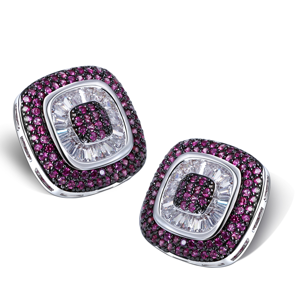 women colorful stud vintage earrings pair star dangle big crystal product jewelry gemstone diamond moon ear