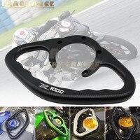 For KAWASAKI Z1000 Motorcycle Accessories CNC Passenger Handgrips Hand Grip Tank Grab Bar Handles Armrest Black logo Z1000