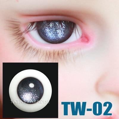 1/3 1/4 1/6 BJD Eyes 14mm/ 16mm  sky series  Eyeballs  for SD/MSD/YSD/70CM Ball-jointed Doll supra sky 4 mm