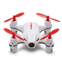 H002 Nano Hubsan Q4 Com 480 P HD Camera Modo Headless 4CH 6-Axis Gyro RC Quadcopter RTF 2.4 GHz
