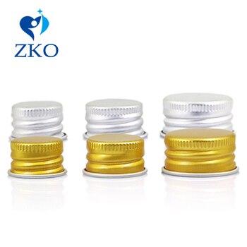 18/410 20/410 24/410 28/410 Aluminium Lid/Aluminum Ropp Cap/Threaded Cap Gold Silver Screw Lids For Bottle Cosmetic Containers фото