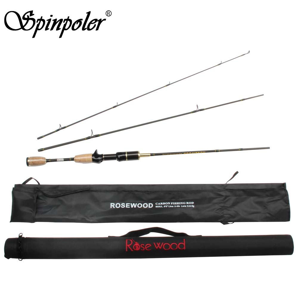 2018 free shipping ultralight spinning rod baitcast rod 3 for 3 piece fishing rod