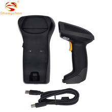 цена на 433M wireless barcode scanner 2D wireless barcode scanner QR code reader Supermarket scanning instrument data collector SC-870W