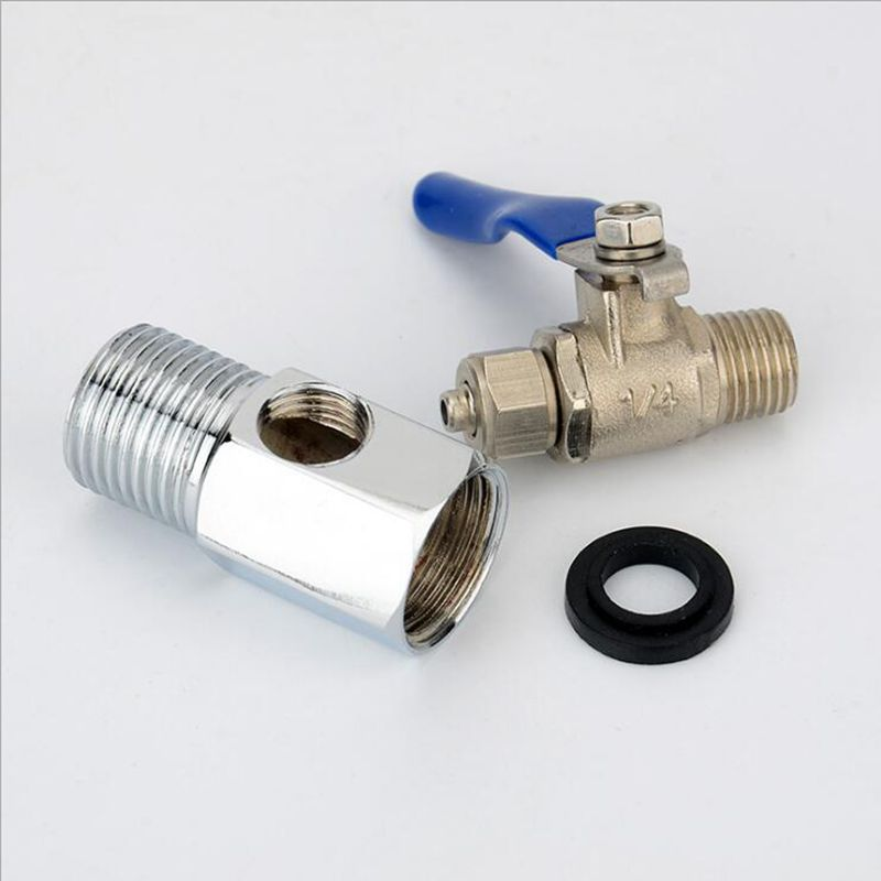 1 2 39 39 BSP Male to Female to 1 4 39 39 3 8 39 39 PE Pipe Ball Valve Inlet Combination Split Type Dismountable for RO Water Filter Fitting in Valve from Home Improvement