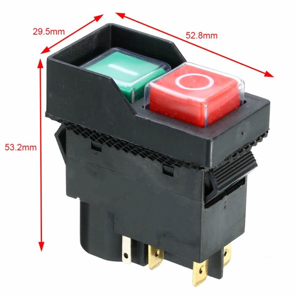 240 V Substituição On Off Interruptor Elétrico IP54 Proteção Para Mayitr Minimix 140 150 Misturadores de Concreto de Cimento