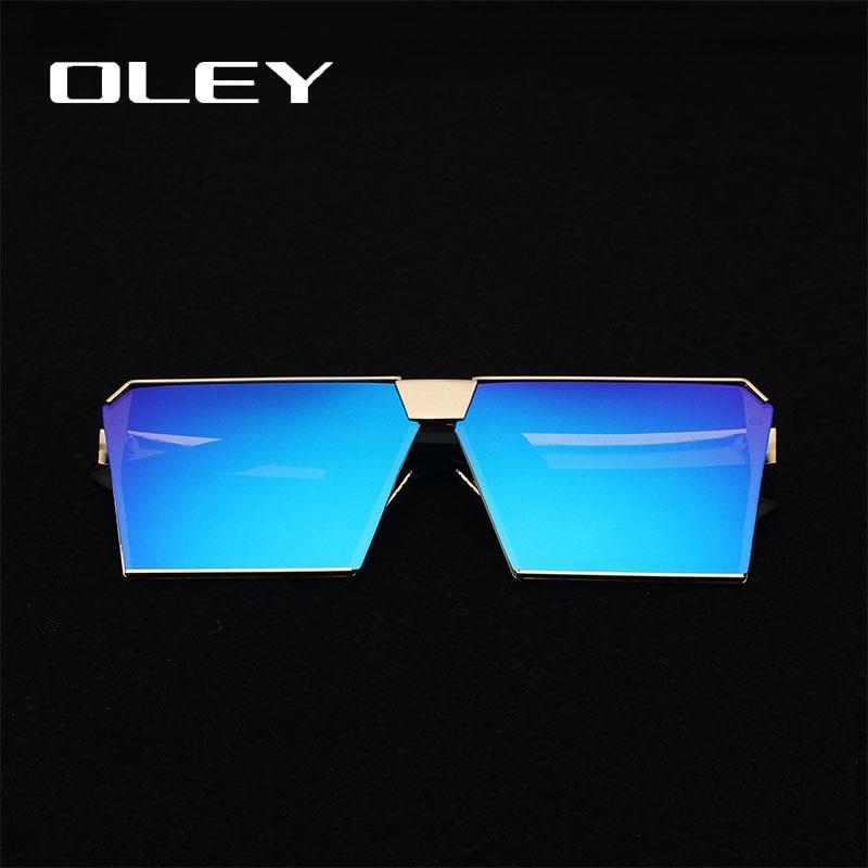 Top Fashion Square Sonnenbrillen flache Beschichtung Gläser für - Bekleidungszubehör - Foto 2