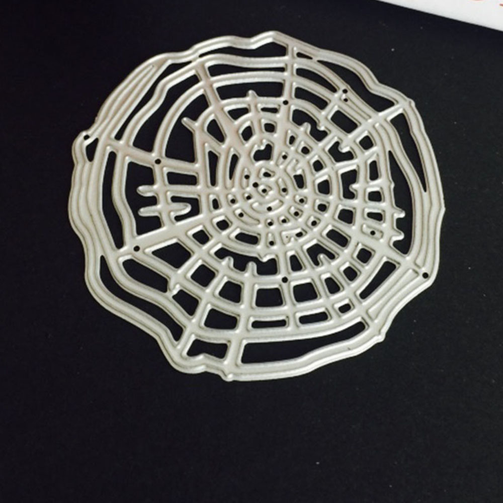 Annual Ring Metal Cutting Dies Decorative Scrapbooking Stencil Photo Album Decor Embossing Cards Making DIY Crafts(China)