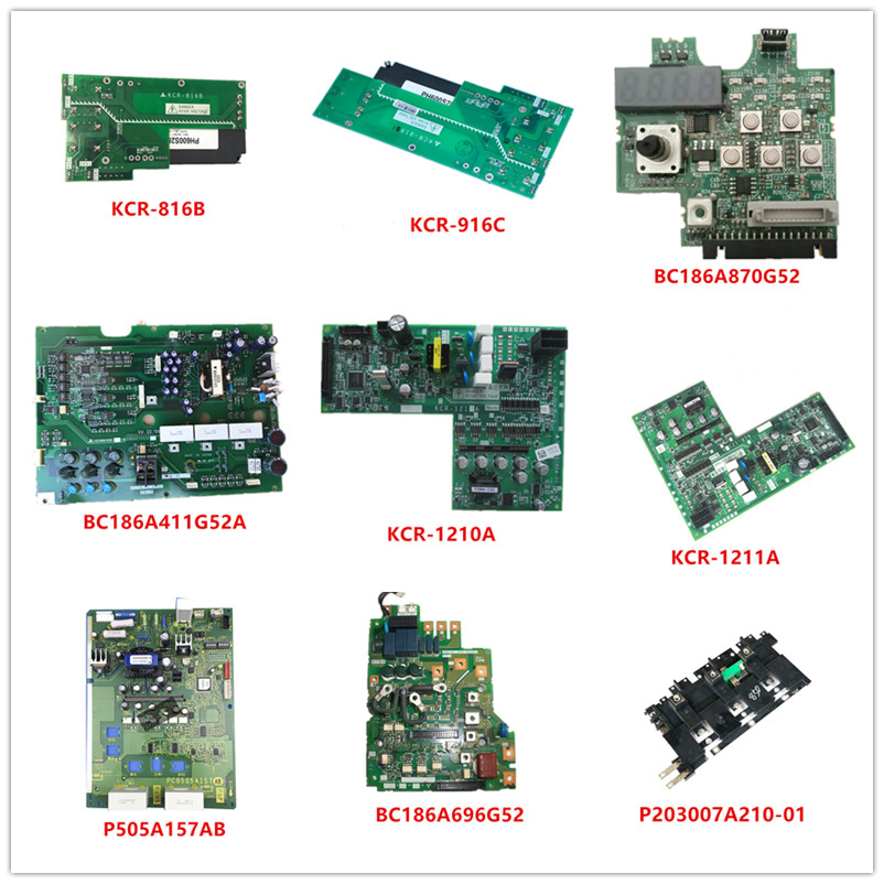 KCR-816B| KCR-916C| BC186A870G52| BC186A411G52A KCR-1210A| KCR-1211A| P505A157AB BC186A696G52| P203007A210-01 Used Good Working