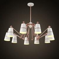 Led lustre nórdico luzes penduradas moderno suspenso luminárias quarto lâmpadas sala de estar suspensão luminárias