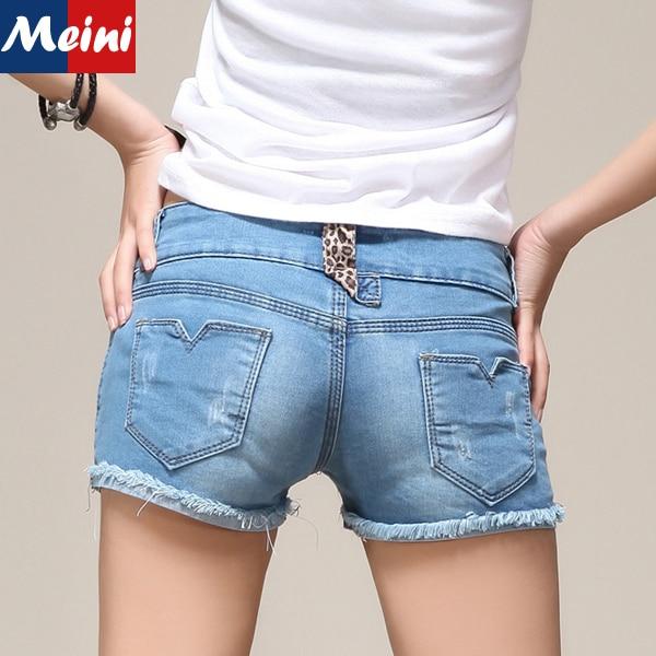 Skinny Teen Shorts