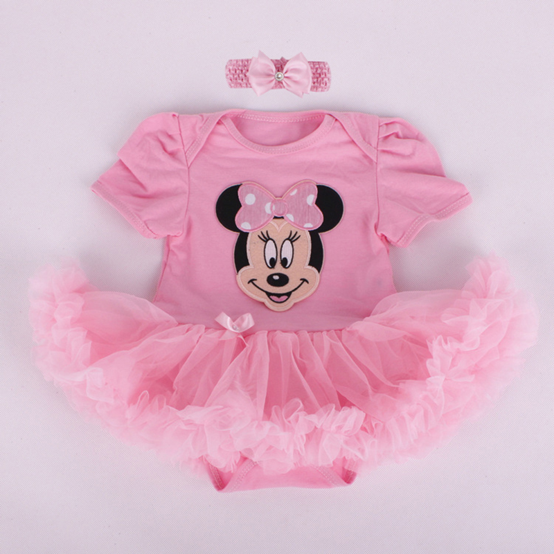 Adorable Baby Girl Summer Dresses Cartoon Hero Infant Bebe Tutu   Romper   Dress Kids Jumpsuit With Headband Toddler Roupas Vestidos