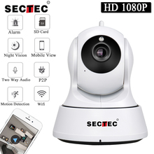 SECTEC 1080 P Full HD Mini Беспроводной Wi-Fi Камера Sucurity IP CCTV Камера Wifi сети видеонаблюдения Smart ИК-Ночное видение cam