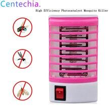 Комаров убийца электрический комаров убийца Электроника ночник Фотокатализ домашний светодиодный жучок ловушка для насекомых Zapper ловушка без излучения