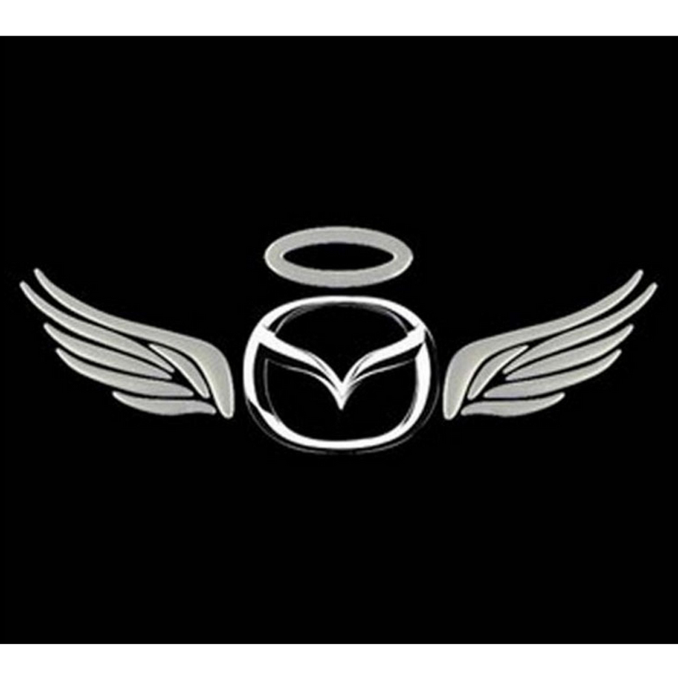 Cool Silver D Auto Logos Tail Sticker Guardian Angel Wings - Cool car logos