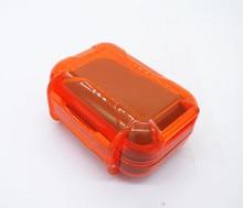 High-end Headset Earphone Accessories Waterproof Headphone Box Drop Resistance Protective Case Earplugs Portable Storage Bag недорого
