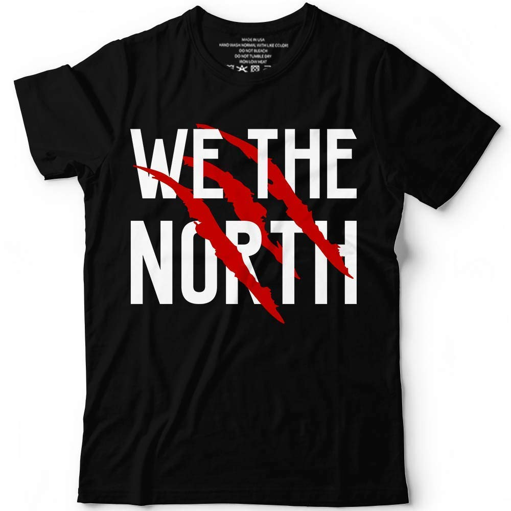 Printed We-Love-The-Northt 1st-Win Ever Basketballer Toronto Winning Maple Champs Handmade New Comic T Shirts T-Shirt Unisex image
