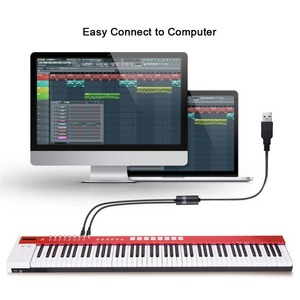 Image 5 - Electric Piano Drum USB To 2 MIDI Interface Adapter Cable Converter For PC Music Keyboard Synth Adapter Windows Mac iOS 2 Meters