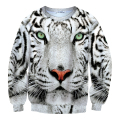 New Men and Women long-sleeve Tiger Sweatshirts O-Neck Hoodies For Men Down Inside