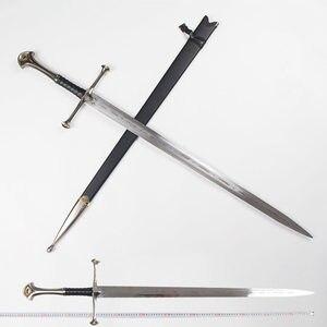 [Hecho de Metal] artesanías 1:1 132cm Lord II Narthil espada larga de acero inoxidable colección de decoración para el hogar modelo