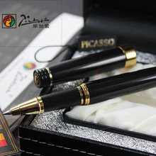 PICASSO 917 EXECUTIVE BLACK AND GOLDEN ROLLER BALL PEN EMOTION OF ROMAN