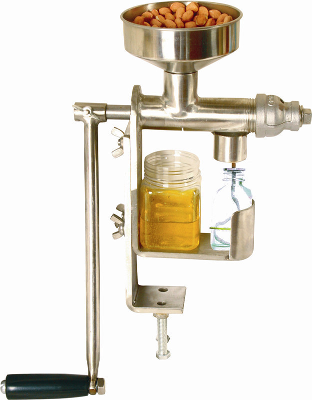 EMS DHL, NEW 2014 Hand crank oil press, oil expeller, Household stainless steel oil extractor , oil machine manual, hot press dhl ems 1pc new for si ck ime18 05bdszc0s