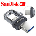 Original sandisk extreme usb3.0 otg unidad flash usb de alta velocidad 150 m/s pendrives 32 gb 16 gb pen drives 64 gb memory stick