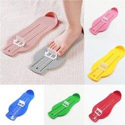 Dzieci dziecko do pomiaru stóp urządzenie buty Gauge władca dla dzieci stóp środek buty rozmiar w domu żółty czerwony zielony niebieski