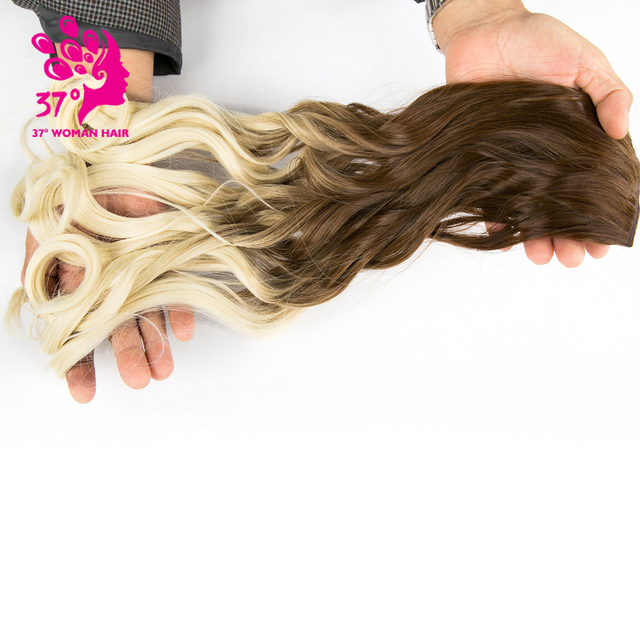 50cm 5 Clip In Hair Extension Heat Resistant Fake Hairpieces Long