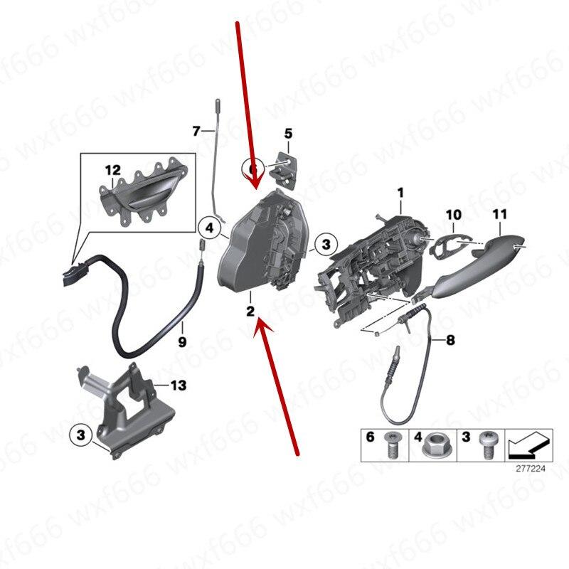Genuine OEM Front Right Door Lock Actuator for 01-06 Hyundai SantaFe 81320-26021