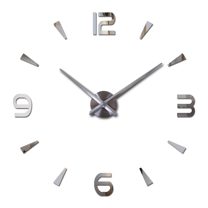 2016 new wall clock quartz living room diy clocks modern ...