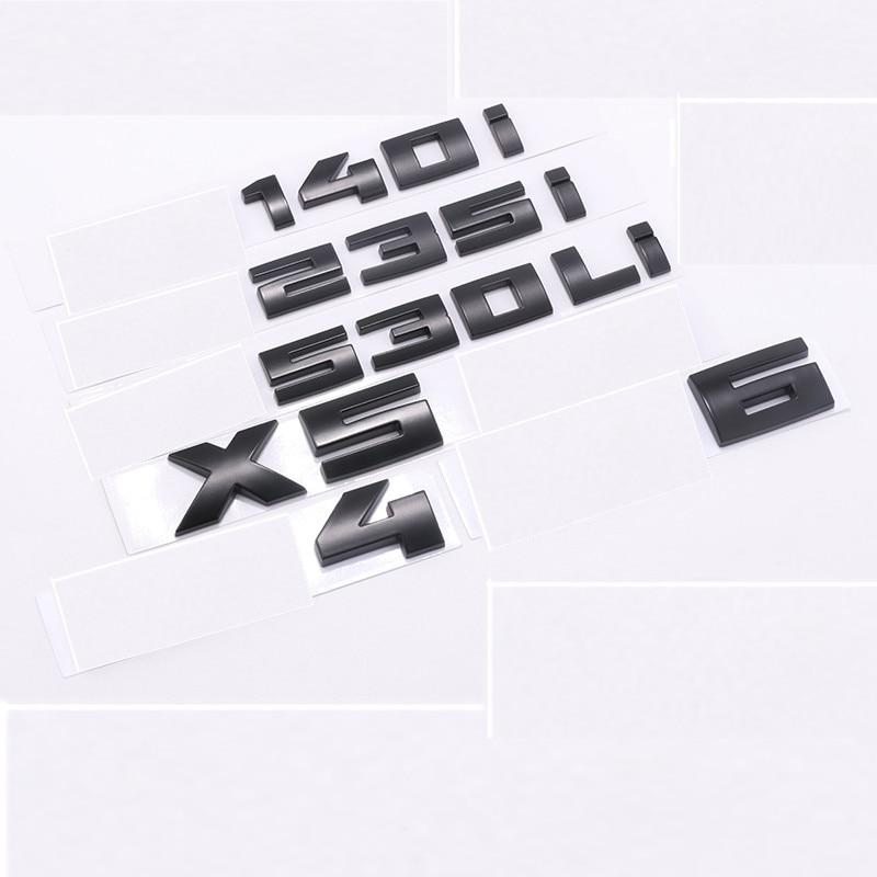 3D ABS глянцевый черный для BMW M M1 M2 M3 M4 M5 M6 X2M X3M X4M X5M X6M M240i Эмблема багажника автомобиля значок наклейка E46 E90 автомобильные аксессуары