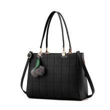 Luxury Elegant Leather Handbags 2016 Woman Leather Bag Women Shoulder Messenger Bags OL Lady Bolsos Girl Tote Sac a main