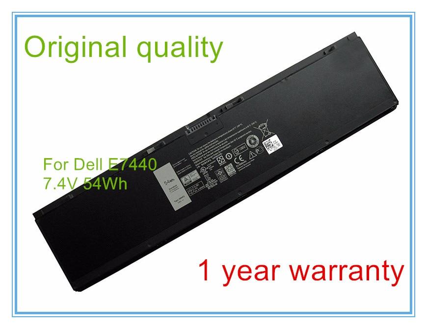 7.4V 54WH Original New 3RNFD Battery For  E7420 E7440 E7450 3RNFD V8XN3 G95J5 34GKR 0909H5 0G95J5 5K1GW 43w4342 44e8763 battery for mr10i mr10is original 95