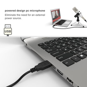 Image 5 - Fifine USB Microphone, Plug & Play Condenser Microphone For PC/Computer Podcasting one line meeting self studioRecording (K056)