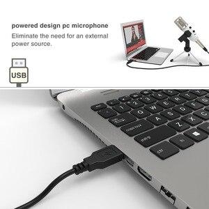 Image 5 - USB микрофон Fifine, конденсаторный микрофон «подключи и работай» для ПК/компьютера