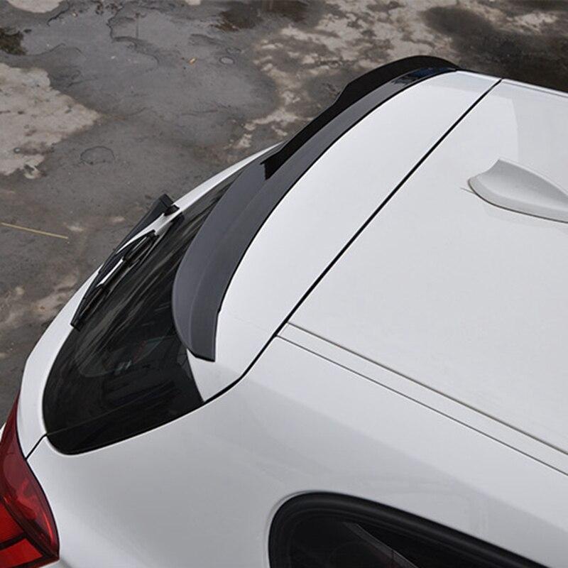 Pour BMW F20 2008-2018 116 118 120 125 M135I spoiler matériel ABS de haute qualité aileron noir aile arrière de voiture