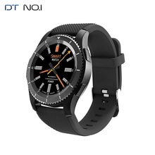 цена на [Dropshipping] DTNO.I G8 Samrt Watch Support SIM Bluetooth 4.0 Smartwatch Resin Strap Call Message Reminder Heart Rate Monitor