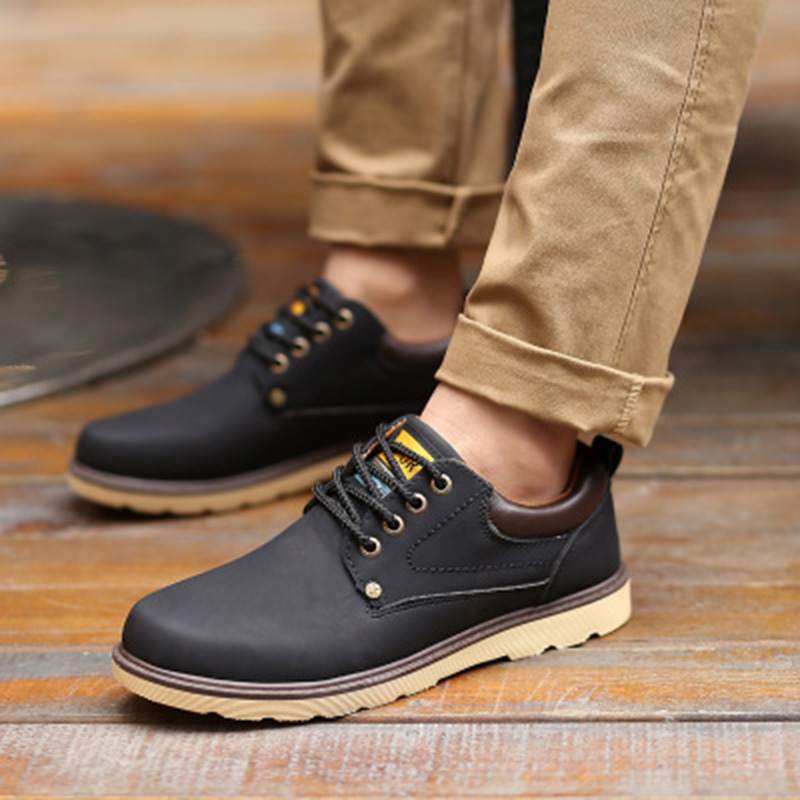 2018 Men Casual Shoes adult Spring autumn Classic Fashion Male Lace - Men's Shoes - Photo 6