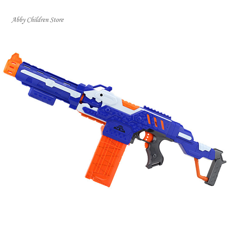 Aliexpress Buy Abbyfrank Soft Bullet Toy Gun Sniper Rifle Plastic 20 Bullets 1 Target Electric Christmas Birthday Gift From Reliable