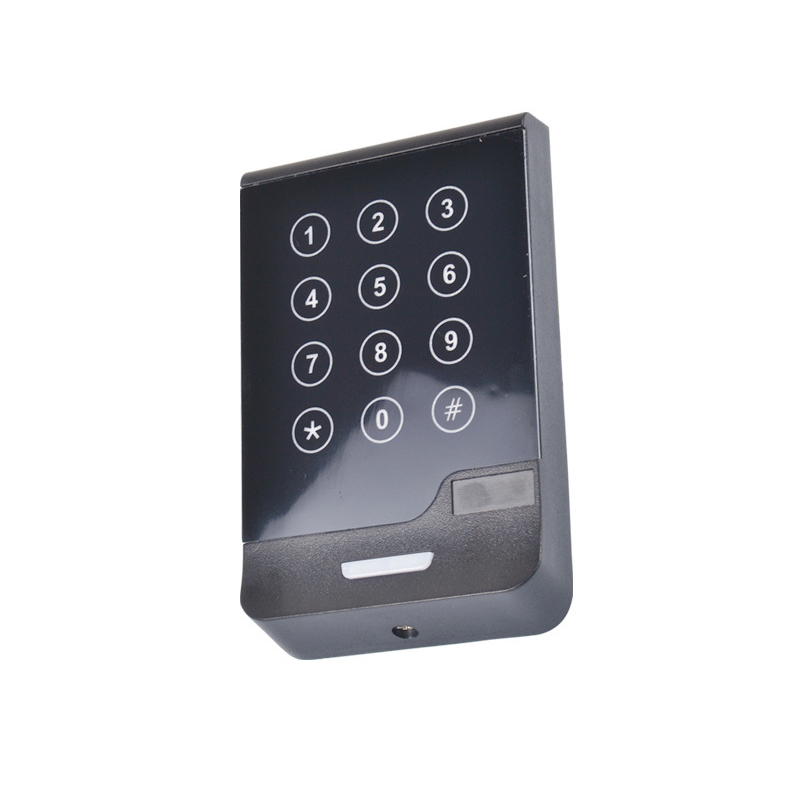 ACS 13.56mhz/ 125khz wiegand 26/34 bits reader touch screen keyboard rfid reader wiegand 26 input
