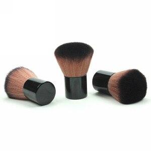 Image 5 - 패션 전문 가부키 메이크업 화장품 페이스 파우더 파운데이션 블러쉬 브러쉬 메이크업 뷰티 툴을위한 개폐식 파우더 브러쉬