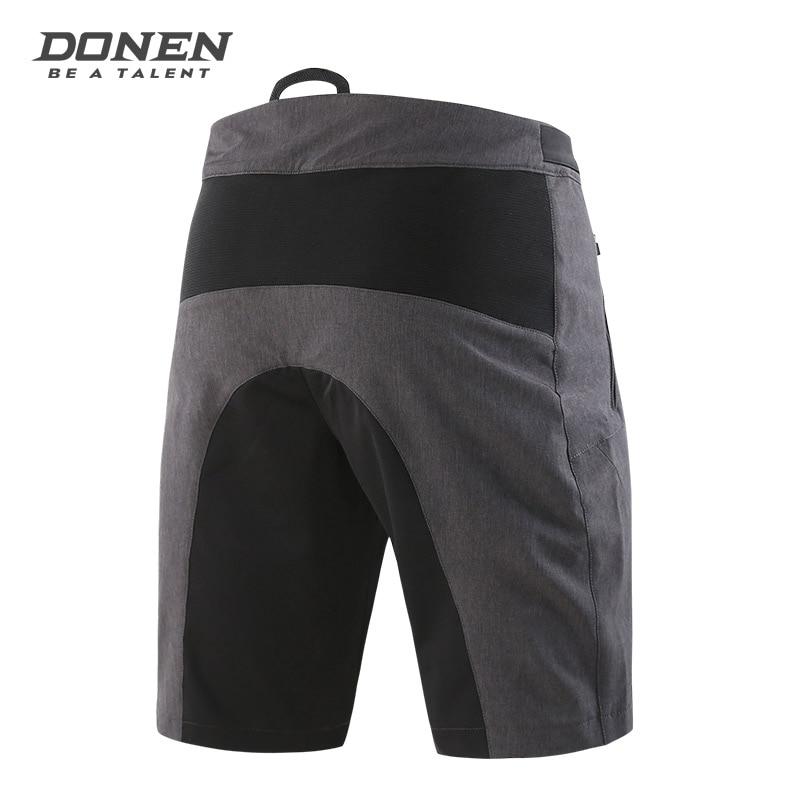 Летние мужские велосипедные шорты DONEN, шорты для горного велосипеда, свободные шорты для спорта на открытом воздухе, для езды на велосипеде, ... - 3