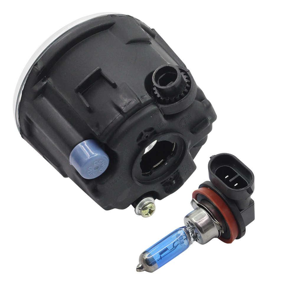 Cawanerl 2X100 W H11 Mobil Halogen Bulb Kabut Cahaya DRL daytime Running Lampu 12 V Daya Tinggi Untuk Nissan Note E11 MPV 2006-2015