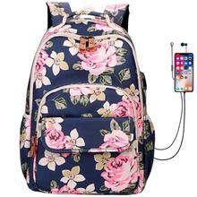 Women Backpack School Student Bag Lightweight Laptop Bags For Teenager Girl 18 Inch Backpacks Waterproof Travel Fashion Rucksack недорго, оригинальная цена