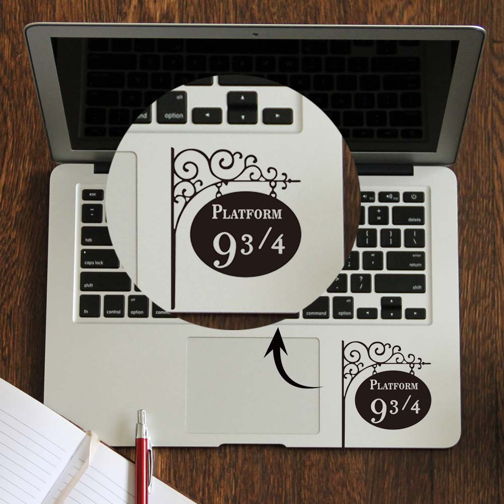 9 3/4 Platform Laptop Trackpad Sticker for Apple Macbook Decal Pro Air  Retina 11 12 13 14 15 inch Vinyl Mac Book Touchpad Skin