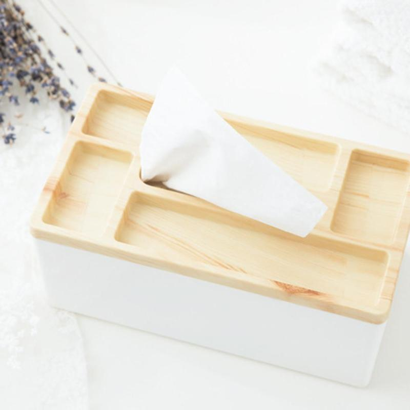 Home Trendy Series Vintage Style Handmade Tissue Boxes Multifunction  Stationery Storage Box For Living Room Study ...