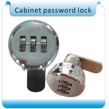 Free shipping 1000 set password trouble-free 3 digit mechanical combination lock, password lock