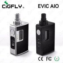 ของแท้100% Joyetech eVic AIOชุด75วัตต์บุหรี่อิเล็กทรอนิกส์จีน3.5มิลลิลิตรเครื่องฉีดน้ำeVic AIOชุดE-บุหรี่