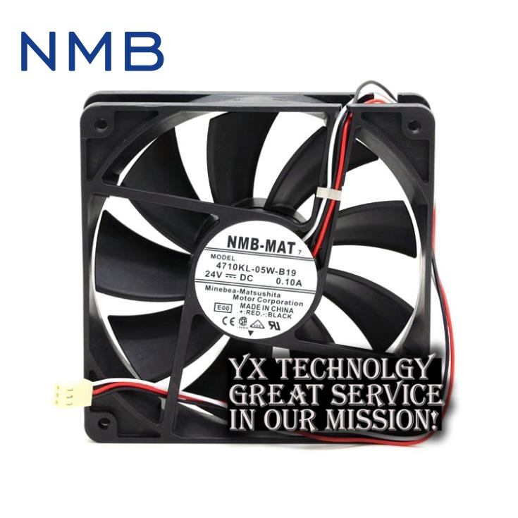 New 120*120*25mm 4710KL-05W-B19 12025 24V 0.10A  alarm  inverter fan for nmb-mat7 минипечь gefest пгэ 120 пгэ 120