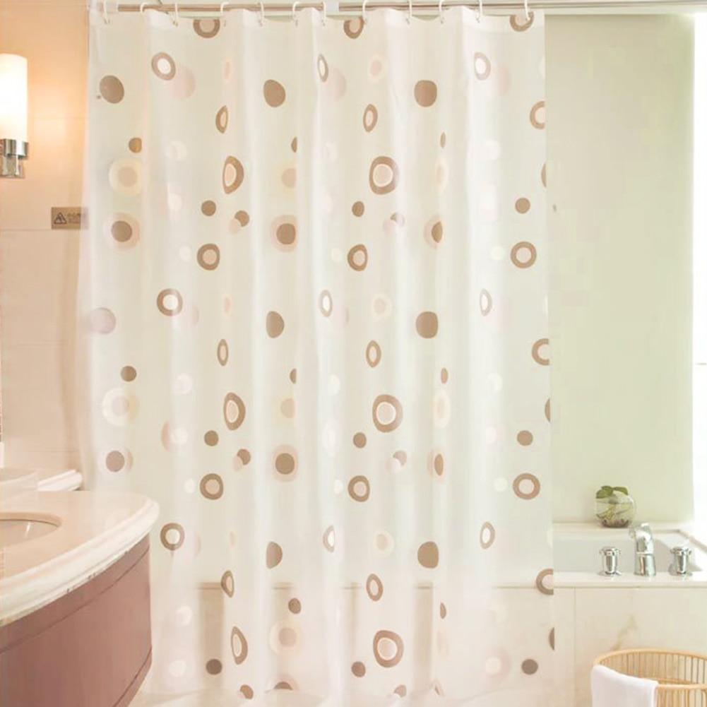 Luxury Shower Curtain PEVA Mold Proof Waterproof Eco friendly ...